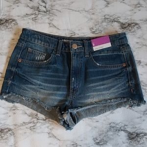 Mossimo High Rise Jean Shorts 9